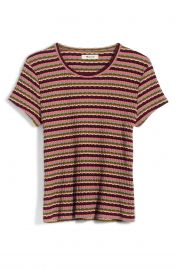 Madewell Ribbed Baby Tee at Nordstrom