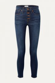 Madewell - Mid-rise skinny jeans at Net A Porter
