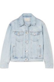 Madewell - The Boxy Crop denim jacket at Net A Porter