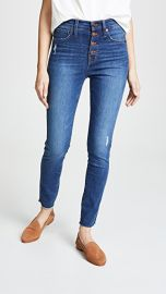 Madewell 10  034  High Rise Button Front Jeans at Shopbop