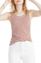 Madewell Audio Stripe Tank   Nordstrom at Nordstrom