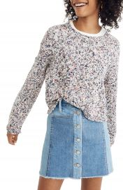 Madewell Brownstone Flecked Sweater   Nordstrom at Nordstrom