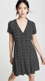 Madewell Button-Wrap Dress in Playground Posies at Shopbop