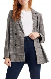 Madewell Caldwell Double Breasted Blazer   Nordstrom at Nordstrom