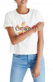 Madewell Citron Graphic Tee at Nordstrom