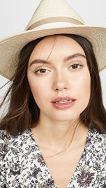 Madewell Classic Flat Brim Straw Hat with Ribbon at Shopbop