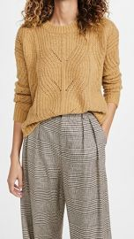 Madewell Dasher Stich Crew Sweater at Shopbop