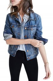 Madewell Denim Jacket  Regular  amp  Plus Size    Nordstrom at Nordstrom