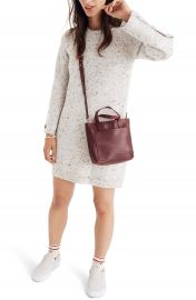 Madewell Donegal Button-Sleeve Sweater Dress   Nordstrom at Nordstrom