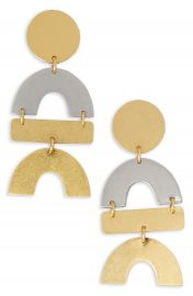 Madewell Flatform Statement Earrings   Nordstrom at Nordstrom