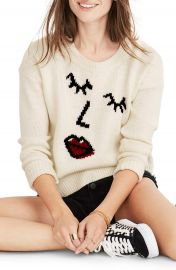 Madewell Making Faces Sweater at Nordstrom