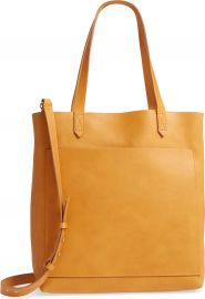 Madewell Medium Leather Transport Tote   Nordstrom at Nordstrom