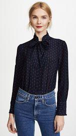 Madewell Nolita Tie Neck Blouse at Shopbop