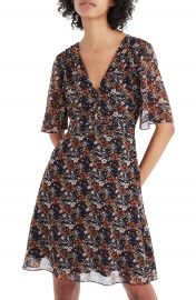 Madewell Orchard Flutter Sleeve Dress at Nordstrom