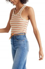 Madewell Ribbed U-Neck Tank Top   Nordstrom at Nordstrom