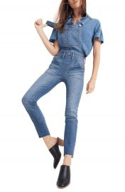 Madewell Skinny Denim Overalls at Nordstrom