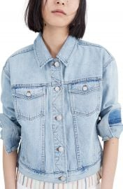 Madewell The Boxy Crop Jean Jacket   Nordstrom at Nordstrom
