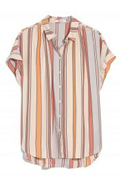 Madewell Towel Stripe Central Shirt   Nordstrom at Nordstrom