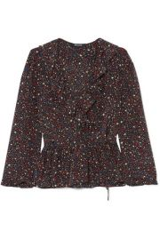 Madewell star print top at Net A Porter