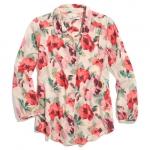 Madewell tearose blouse at Madewell