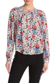Madge Silk Floral Blouse by Veronica Beard at Nordstrom Rack