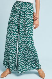 Maeve Acker Wide-Leg Pants at Anthropologie
