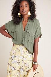 Maeve Amira Utility Top at Anthropologie