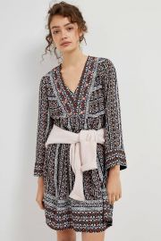 Maeve Naomi Embroidered Tunic Dress at Anthropologie