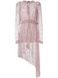 Magda Butrym Asymmetric Lace Morelia Dress at Farfetch