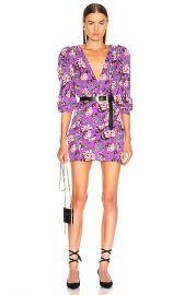 Magda Butrym Faro Dress in Violet   FWRD at Forward