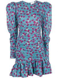 Magda Butrym Short Floral Dress - Farfetch at Farfetch