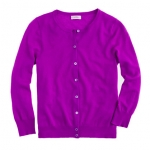 Magenta cardigan from J. Crew at J. Crew