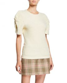 Maggie Marilyn Knotted Short-Sleeve Top at Neiman Marcus