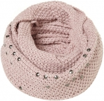 Maggie's pink rhinestone scarf at Topshop