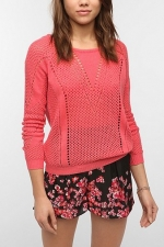 Maggie's pink sweater at Urban Outfitters at Urban Outfitters