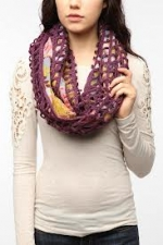 Maggie's purple scarf at Urban Outfitters at Urban Outfitters