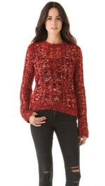 Maggies red jumper on The Carrie Diaries at Shopbop