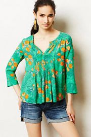 Mahdia Peasant Top at Anthropologie