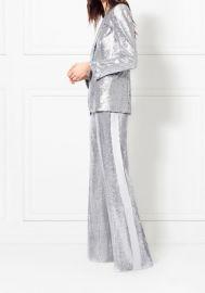 Maida Wide-Leg Fluid Sequin Pants at Rachel Zoe