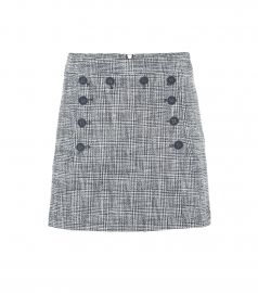 Maida checked tweed miniskirt at Mytheresa