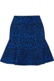 Maisie stretch jacquard-knit mini skirt at The Outnet