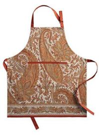 Maison d\' Hermine Kashmir Paisley Apron at Amazon