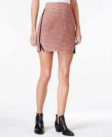 Maison Jules Houndstooth-Print Mini Skirt  Only at Macy s at Macys