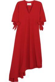 Maison Margiela   Asymmetric crepe dress at Net A Porter