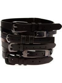 Maison Margiela Stacked Belts - 519 at Farfetch