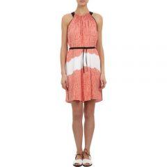 Maiyet Block-Printed Halterneck Dress at Barneys