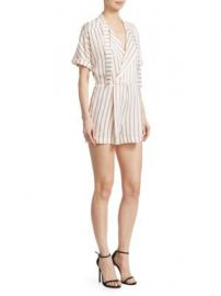 Maje - Imaly Striped Romper at Saks Fifth Avenue