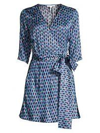 Maje - Print Wrap Dress at Saks Fifth Avenue