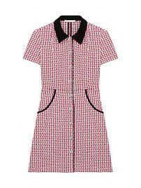 Maje - Renatya Mini Tweed Shirtdress at Saks Fifth Avenue