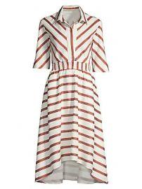 Maje - Romala Stripe Shirtdress at Saks Fifth Avenue
